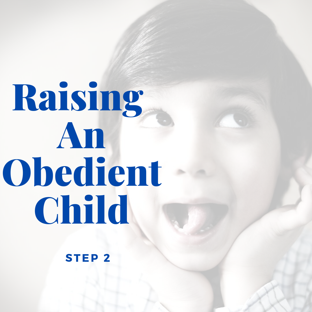 Raising An Obedient Child – Step 2