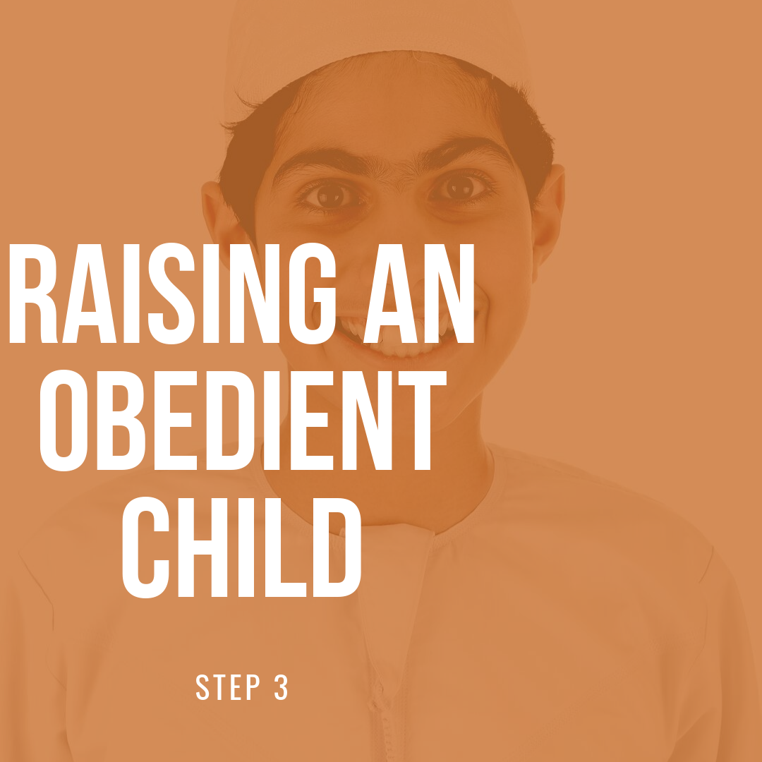 Raising An Obedient Child – Step 3